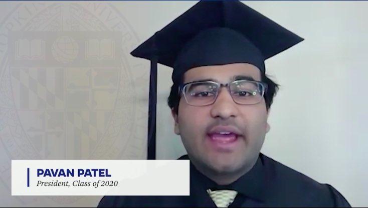 Pavan Patel Class President